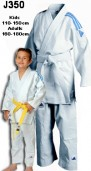 Adidas Judo Student Gi 350grm Kids Sizes Front View